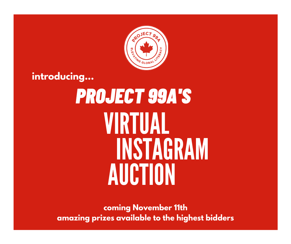 Project 99A Virtual Auction on Instagram Begins Today