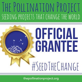 THANK YOU to our friends at The Pollination Project