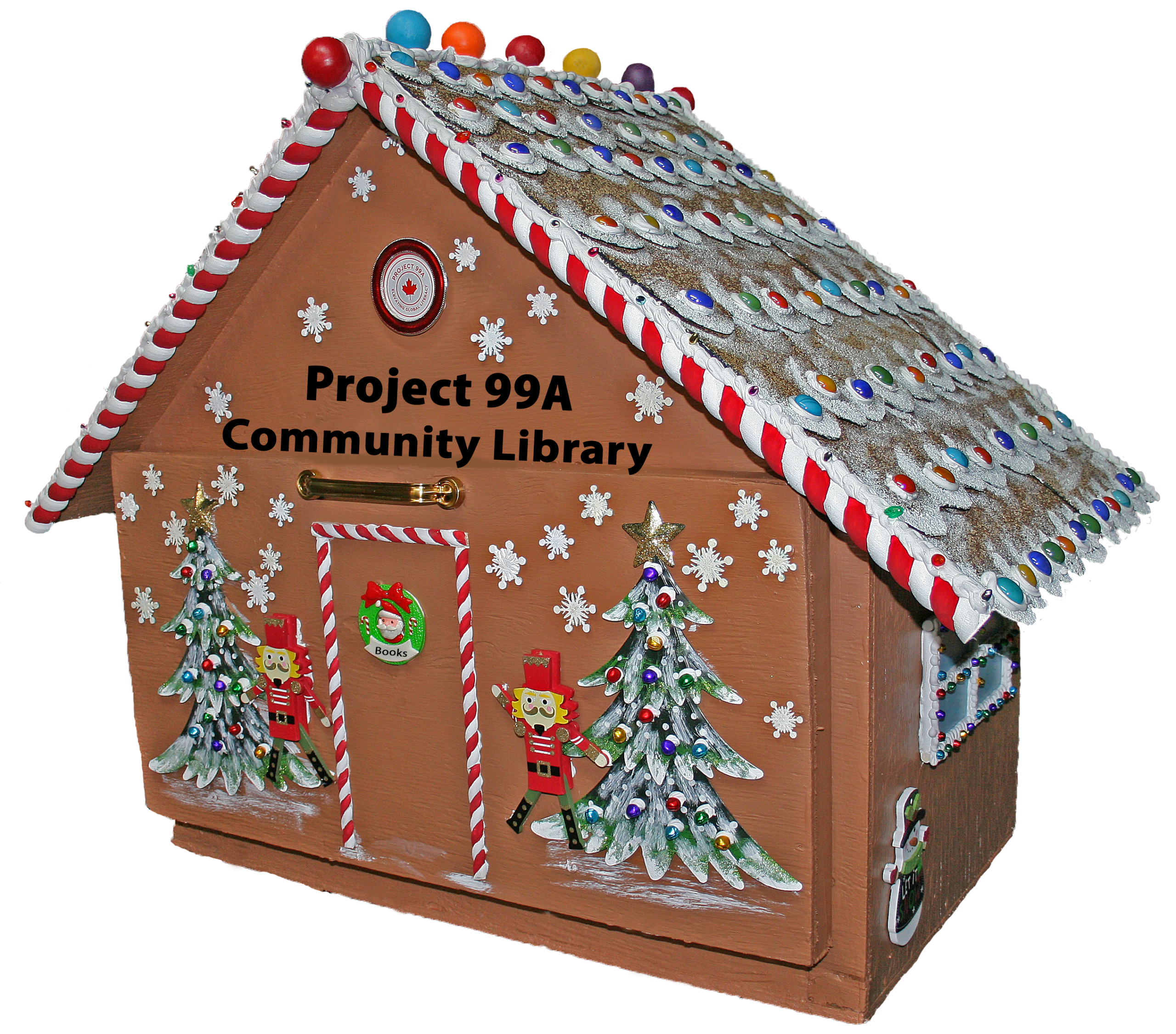 Project 99A Gingerbread Community Library