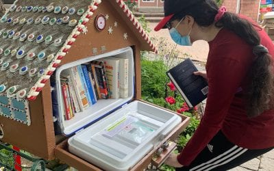 Project 99A Gingerbread Community Library is Officially Open