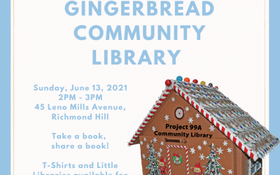 Grand Opening of Project 99A's Gingerbread Community Library